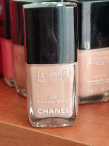 Chanel Le Vernis Nail Colour 201 Sahara Beige version