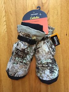 NWT Cabela's MT050 Extreme II Glommitt Heavy Weight Wes XL