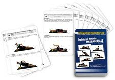 Trainingskarten - Massagerolle Faszienrolle Fitnessrolle (30 Workouts)