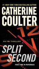 Catherine Coulter Split Second FBI Thriller 15 Savich and Sherlock Paperback