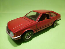 MEBETOYS 6787 OPEL MONZA - RED 1:24 - GOOD CONDITION