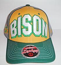 North Dakota State University Bison Adjustable Back Hat NWT Authentic Cap Zephyr