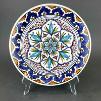 Vintage Hand Painted Decorative Plate Handmade in Greece Wall Plate