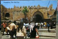 Israel Jerusalem The Old City View to Damascus Gates - posted 1986