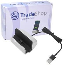 USB 3.1 Typ C Dockingstation Ladestation Ladegerät für Motorola Moto Z2 Play