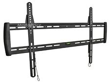 """Universal Super Flat TV Wall Mount LG Sony Samsung 60"""" 70"""" 80"""" Only 5/8"""" Thin"""