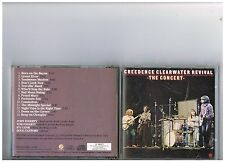 CREEDENCE CLEARWATER REVIVAL CD.IN CONCERT..JOHN FORGERTY .LIVE CCR