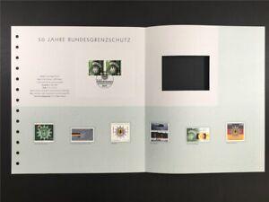 GERMANY ART-EDITION 2001/12 2175 BUNDESGRENZSCHUTZ UNISSUED DRAFTS!!