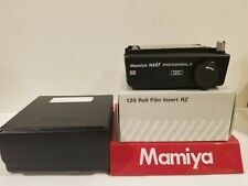 Mamiya RZ PRO II 120 6x7 FILM INSERT ((( NEW IN PROTECTIVE CASE AND BOX )))