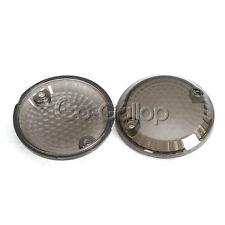 Smoke Turn Signal Lens For Suzuki Intruder VS 800 1400 1500 Marauder 1986-2003