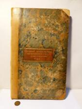1841 BEDALE Protection Property & Prevention Crime Police Minute Book UNIQUE