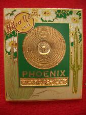 HRC Hard Rock Cafe Phoenix Gold Record Series 2005 LE300