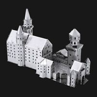 Metal Earth Neuschwanstein Castle DIY laser cut 3D steel model kit
