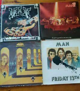Bundle of 4 Man LP's