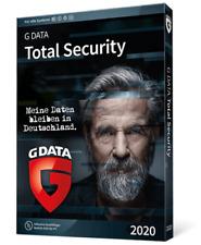 GData Total Security 2021 1 PC 1 Jahr sofort per EMAIL digital G DATA NEU