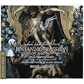 St.John Passion - 3 DISC SET - J.S. / Rias Kammerchor / Jacobs, ( New&SEALED)