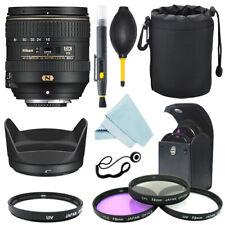 Nikon AF-S DX NIKKOR 16-80mm f/2.8-4E Lente + Filtro ED VR Kit + Kit de Accesorios