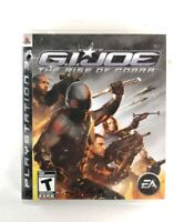 G.I. Joe: The Rise Of Cobra - (Sony PlayStation 3, 2009 ) VG, Complete, *TESTED*