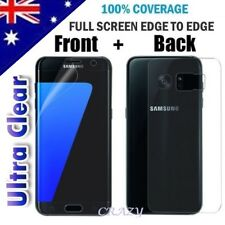 Front Back Full Coverage Screen Protector For Samsung Galaxy S7 Edge S8 S8+ S9 +