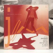 "MICHAEL JACKSON - JAM ( THE REMIXES ) 12"" EX/EX- 1992 EUROPE EPIC 658360 6"