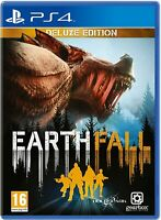 Earthfall Deluxe Edition Playstation 4 PS4 **BRAND NEW & SEALED** Earth Fall