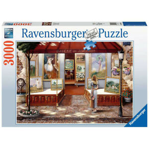 Ravensburger 3000 Piece Jigsaw Puzzle Gallery of Fine Arts - 16466