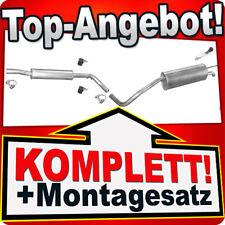 Auspuff SKODA ROOMSTER 1.4 86PS 2006-2010 Auspuffanlage 910