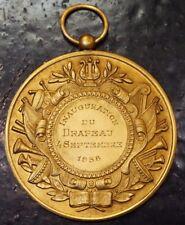 Médaille Fanfare La Concorde - Ellignies St Anne 1938