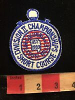 Vtg 1983 Missouri Columbia Valley Patch Div. II Championships Short Course 87V6