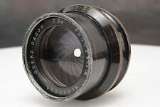 ":Goerz Dagor 9 1/2"" 240mm F6.8 Large Format Brass Barrel Lens"
