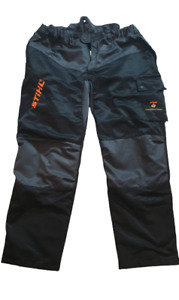 STIHL CHAINSAW TROUSERS - DESIGN C CLASS 1 - SIZE 60 - NEAR MINT CONDITION