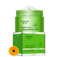Meiyanqiong Face Cream Calendula Double Moisturizing Cream Anti-Aging White B4Q6