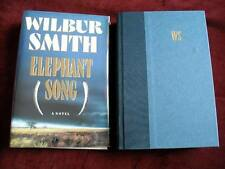 Wilbur Smith - ELEPHANT SONG - 1st