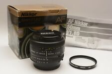 Nikon Nikkor AF 50mm f/1.8D AF Prime Lens F Mount with box - 'MINT' Condition