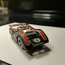 New listing Vintage TYCO Pro #4 McLaren Black HO Slot Car tested runs complete white boots
