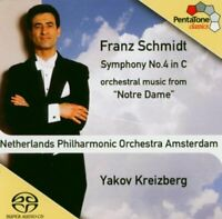 ranz Schmidt - Schmidt: Symphony 4, Orchestral music from Notre Dame [CD]