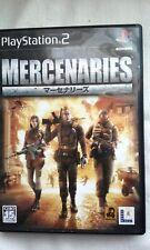 PS2 Mercenaries NTSC-J Japanese