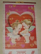 Calendrier 2006 avec adorable photo jeunes enfants anges amoureux coeur sexy