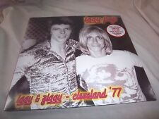 IGGY POP-IGGY & ZIGGY-CLEVELAND '77 (DAVID BOWIE) COLORED VINYL NEW SEALED LP