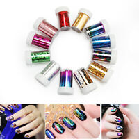 Nail Art Foils Transfer Holographic Foil Star sticker Decoration Decal wrap