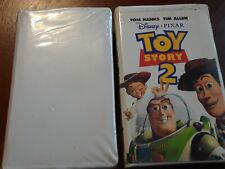 VHS 2 tape lot Toy Story and Toy Story 2