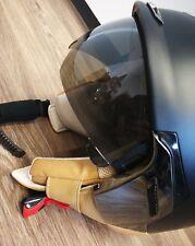 Scorpion Exo 100 Padova II Jet Helm XS 54 cm in Schwarz Hellbraun wie Neu