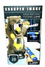 Sharper Image Hungry Bear Target Feeding Game w/Sound Launches up to 20 Feet