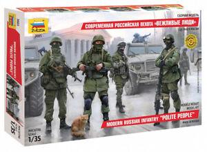 "Zvezda 3665 Modern Russian Infantry ""Polite People"" 1/35"