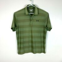 Under Armour Green Golf Polo Shirt Size (US Size) Men's Large