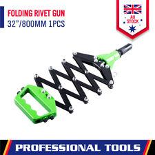 Folding Hand Pop Rivet Gun Lazy Tong Riveting Tool Scissor Riveter Heavy Duty