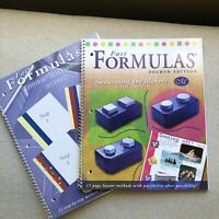 Lot 2 Creative Memories IDEA BOOKS: FAST FORMULAS Scrapbook