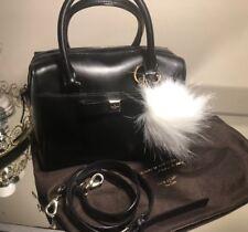 Kate Spade Bow Small Mini Jet BLACK Crossbody Bag Messenger Bag $289.99