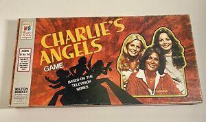 Vintage 1978 Charlie's Angels Board Game Milton Bradley (100% Complete)
