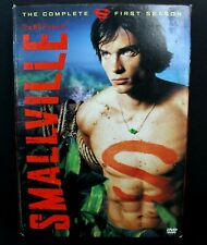 Smallville The Complete First 1 Season 6 Disc Set DVDs with Slip Covers